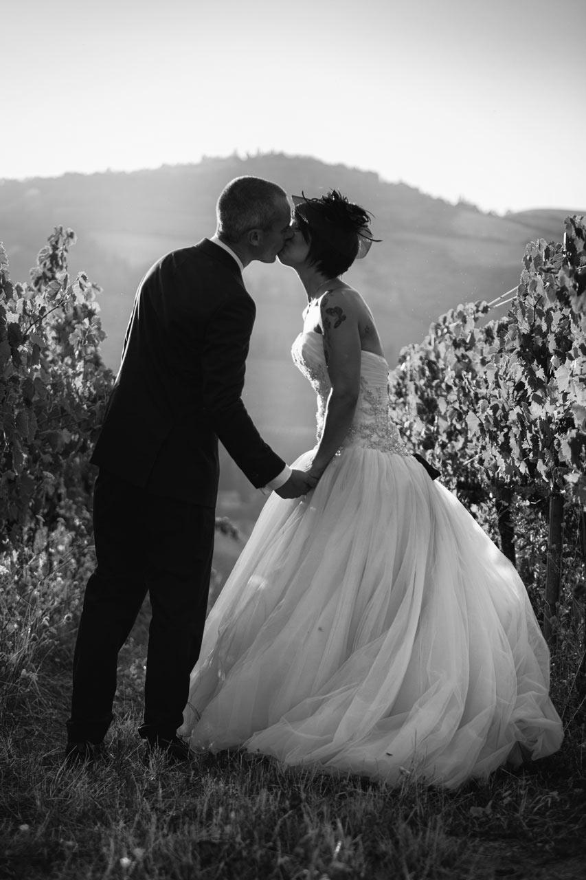 Matrimonio foto sposi in bianco e nero