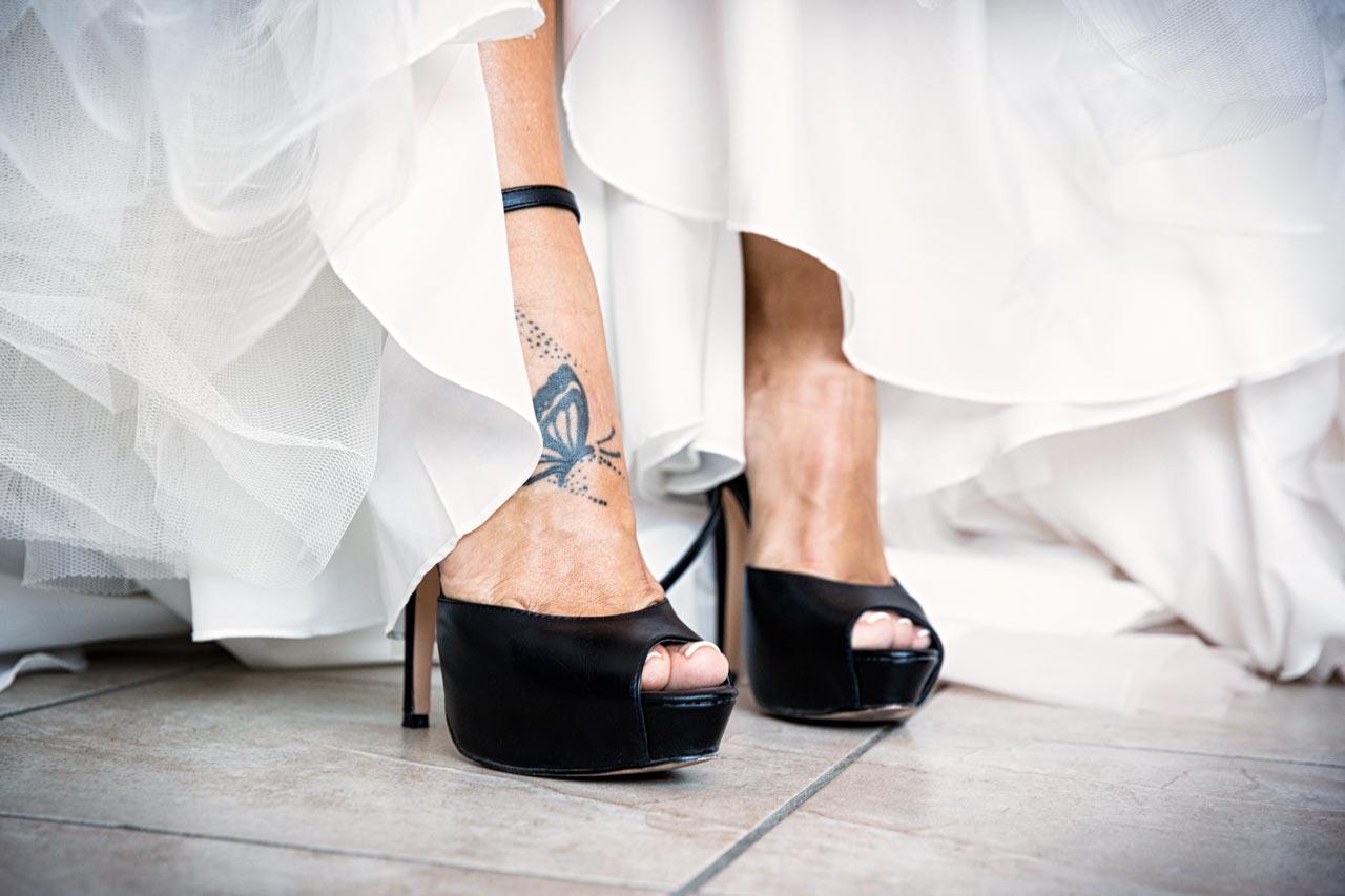 Foto preparazione sposa