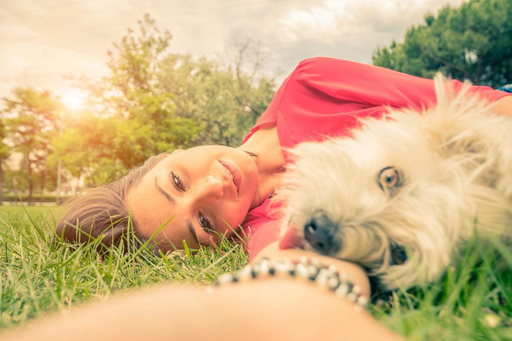 Servizio fotografico con animali domestici
