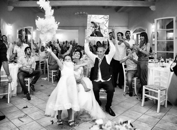 Foto matrimonio ricevimento giochi